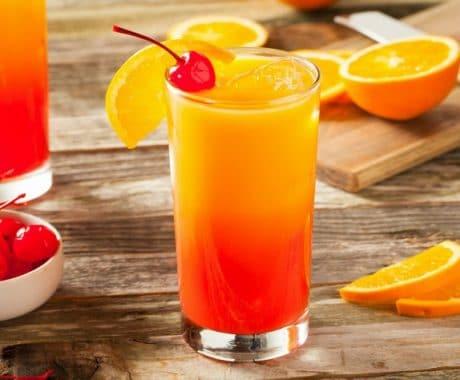 imagen Tequila Sunrise: Cómo preparar el cóctel Tequila Sunrise