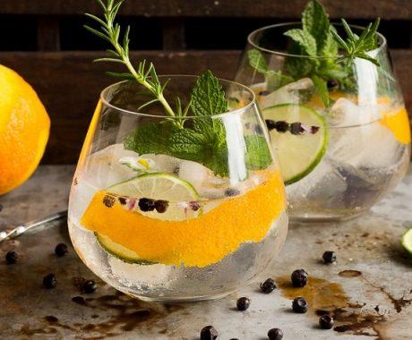 imagen Diez maneras de aromatizar y dar sabor a un Gin & Tonic